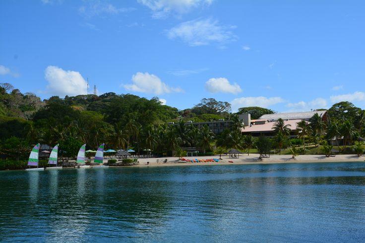 Reflecting...  #Vanuatu #HolidayInnResort #FamilyHoliday