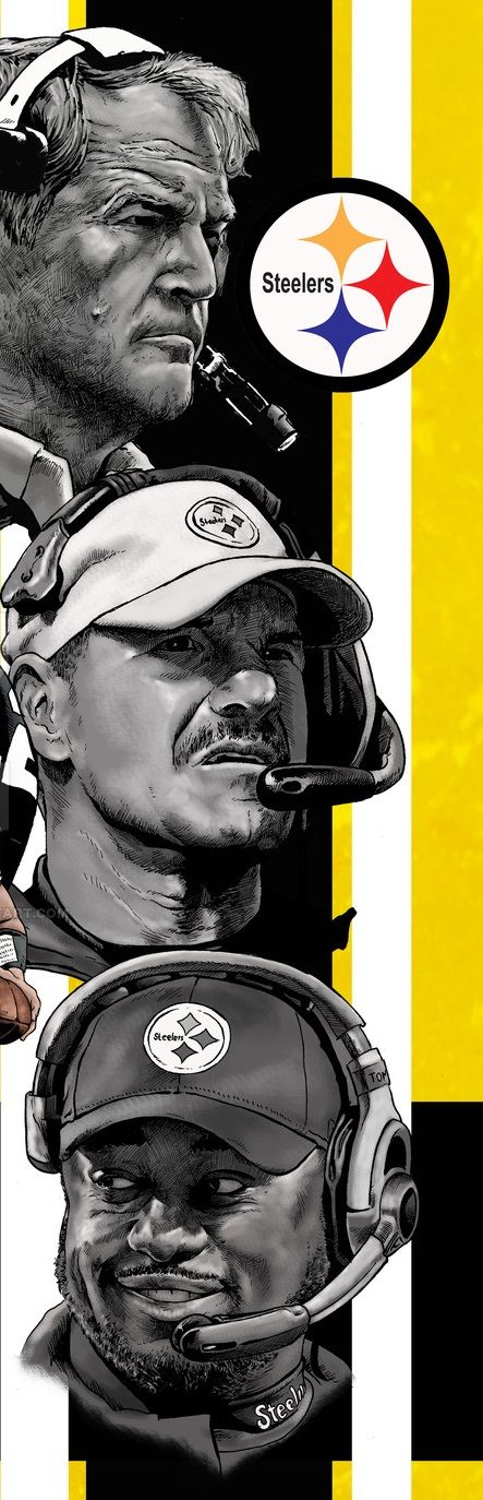 Chuck Noll (1969-1991) Bill Cowher (1992-2006) Mike Tomlin (2007-present) The Pittsburgh Steelers only three head coaches since 1969, and they're all instrumental in winning six Super Bowl titiles.