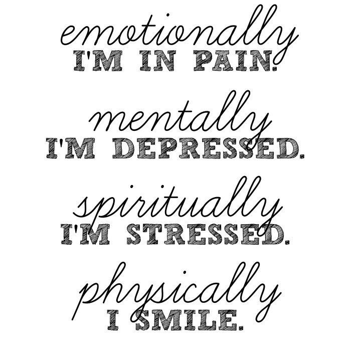 Sad Quotes About Depression: 25+ Best Ideas About Depression On Pinterest