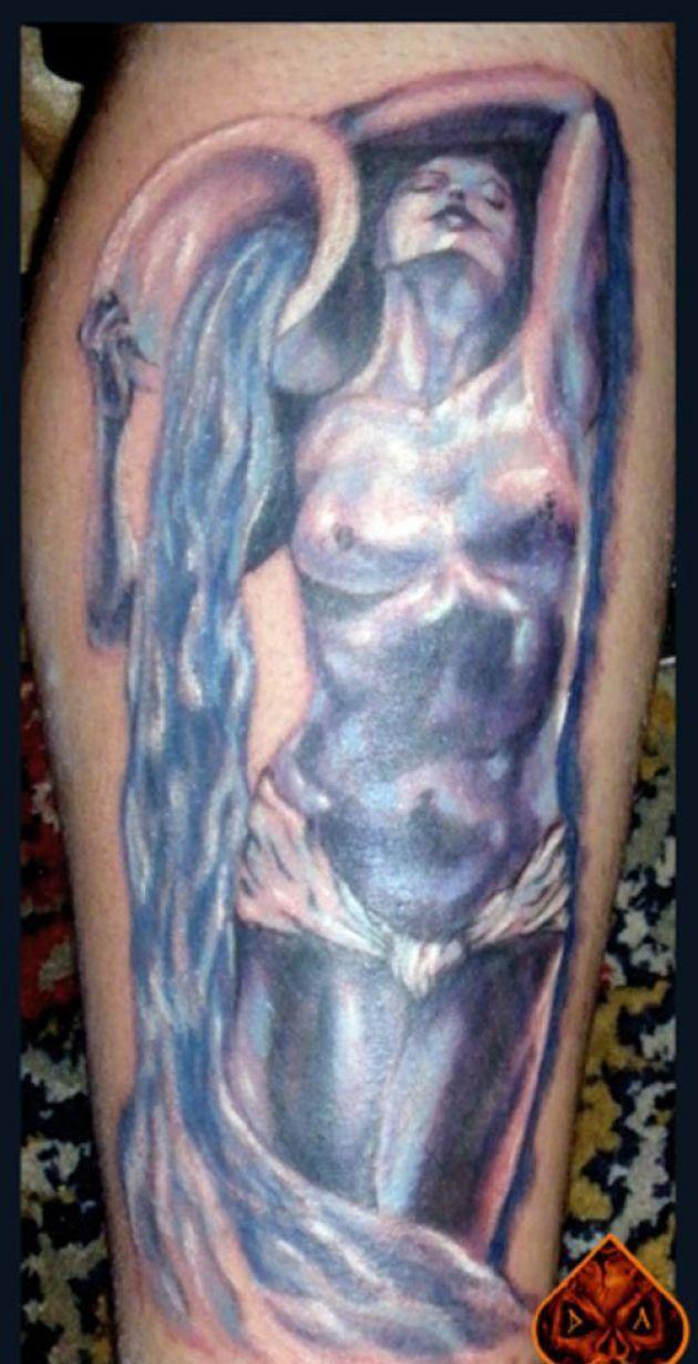 Image result for aquarius tattos