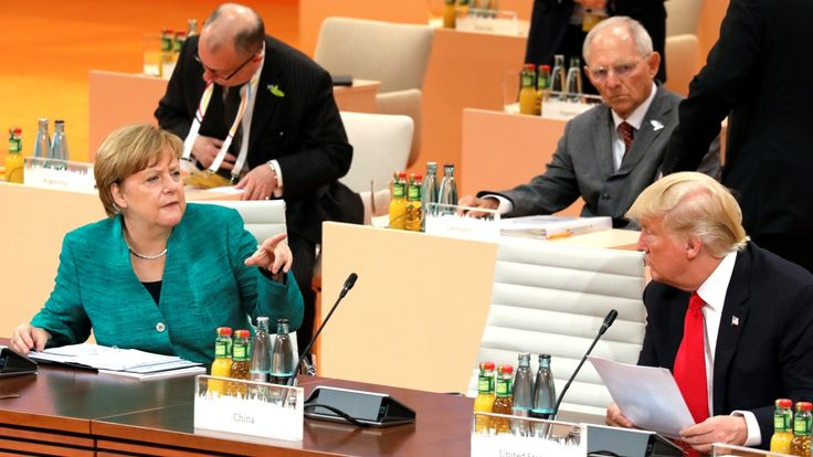 G20 leaders reaffirm support of Paris climate change agreement without U.S.