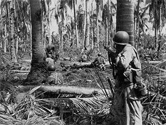 the X Corps sector, the 1st Cavalry Division held Tacloban airfield and the 24th Infantry Division had taken the high ground commanding its beachheads Hill 522. In the XXIV Corps sector, the 96th Infantry Division held the approaches to Catmon Hill, the highest point in both corps beachheads; the 7th Infantry Division had taken the town of Dulag, forcing General Makino to move his 16th Division command post ten miles inland to the town of Dagami. These gains had been won at a cost of 49…