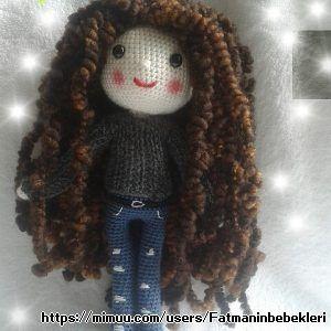 Curly Hair Baby Amigurumi
