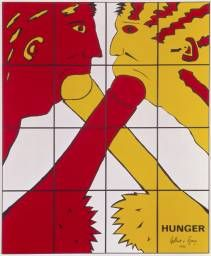 Gilbert & George 'Hunger', 1982 © Gilbert & George