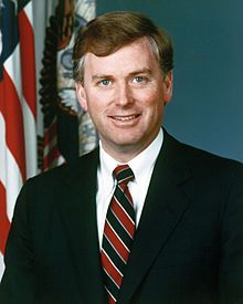 "Dan Quayle - Indianapolis, IN.  Vice President of the US - best known for his inability to spell ""potato""."