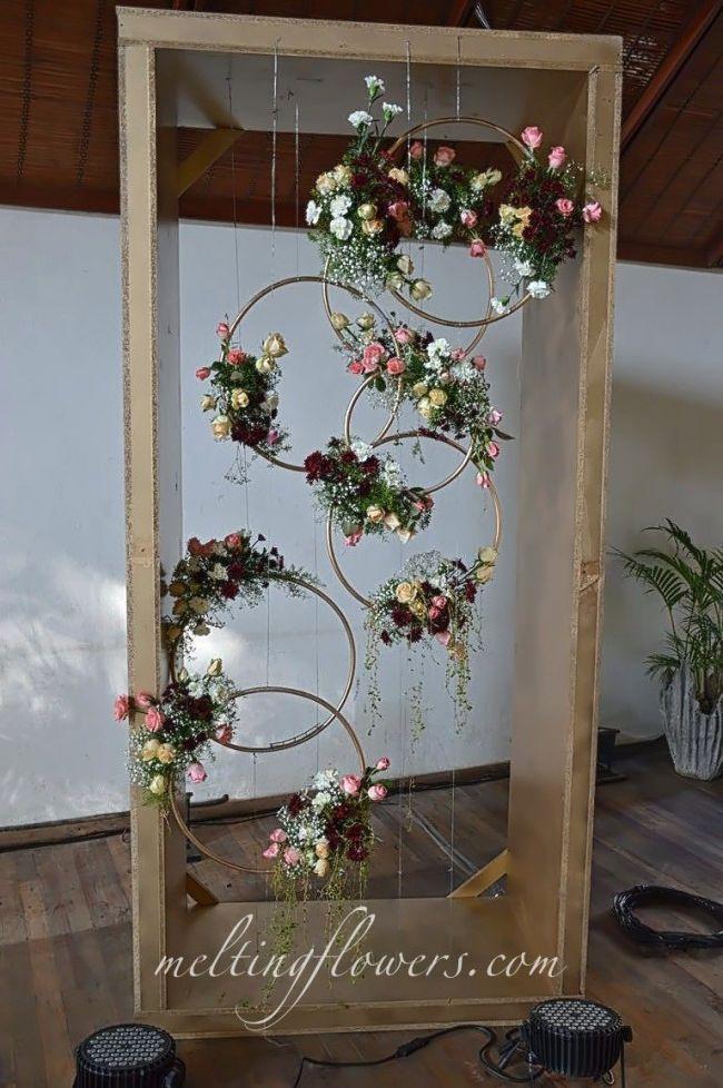 1 $ Hula-Hoop-Hochzeits-Ideen. Hochzeitsideen mit kleinem Budget.