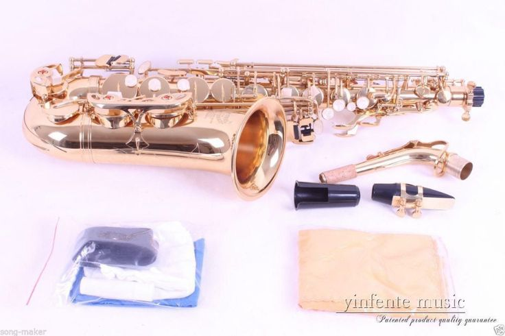 Gold plated alto sax alto Saxophone High quality Low Price New  #20 #Affiliate