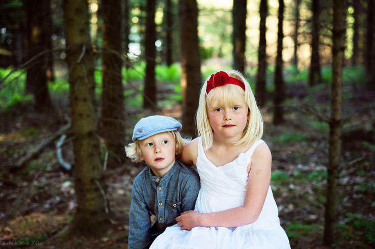 Modeller : Astrid og Gustav Foto: Rikke Skov