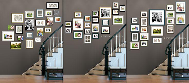 Ideas for Wall Collage on Stairway   Houston Photographer » Houston Children's Photographer