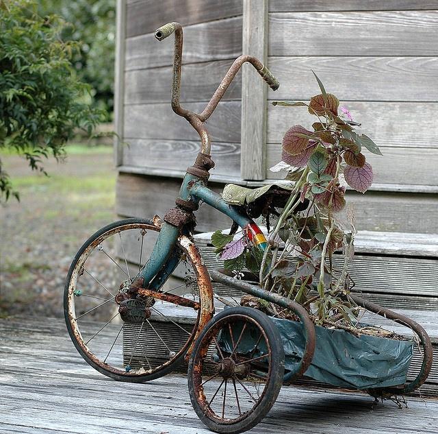 843 mejores im genes sobre bicicletas jardineras en - Cestas para bicicletas ...