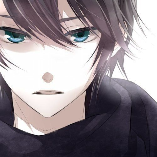 anime boy with brown hair and green eyes wwwimgkidcom