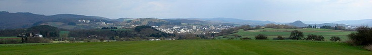 panoramic view of Wittlich, Germany
