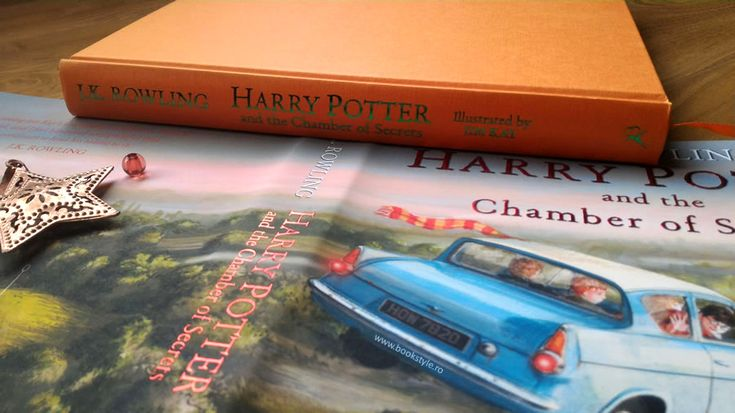 Harry Potter and the Chamber of Secrets - Illustrated Edition - Harry Potter si Camera Secretelor - Carte ilustrata - Bloomsbury ISBN 9781408845653