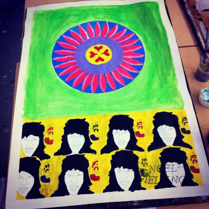 Nearly finished my #noelfielding piece of #art