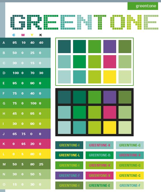Graphic design color green tone color schemes color Good color combination for pink