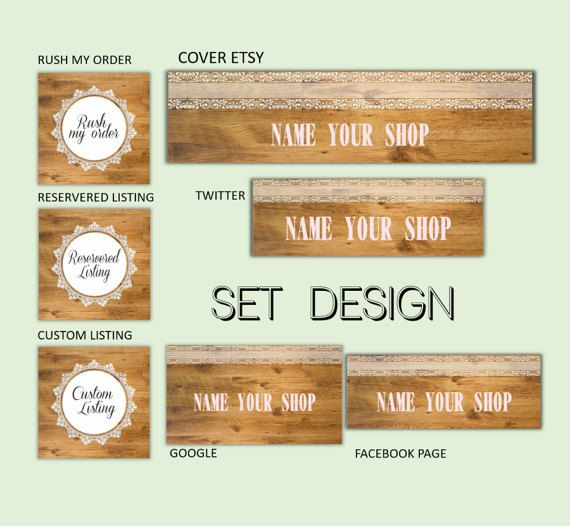 Portada personalizada, banner etsy, banner redes sociales, portada facebook,portada twitter,diseño personalizado,portada etsy personalizada