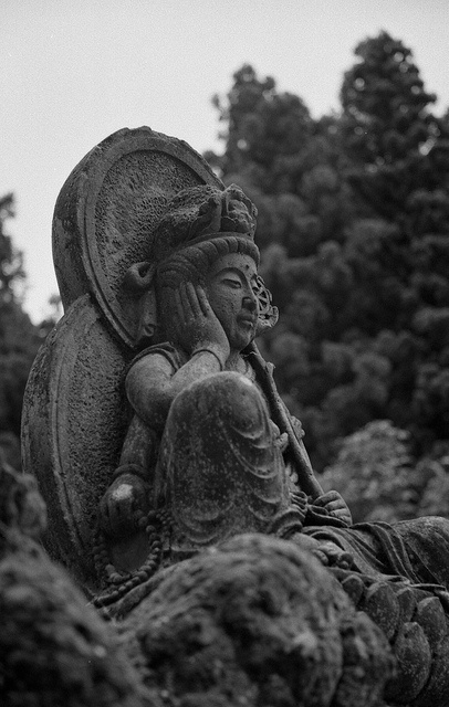 the Buddha by YuukiSato, via Flickr* Arielle Gabriel, author of The China Adventures of Arielle Gabriel is a Buddhist who writes about the miracles of Kuan Yin in her book The Goddess of Mercy & The Dept of Miracles, when she suffered financial disaster in the mercenary city of Hong Kong *