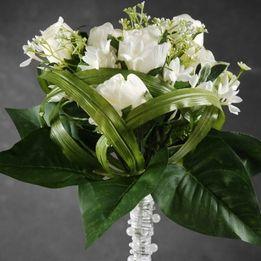 Wedding Bouquets Rose & Stephanotis Artificial Flowers