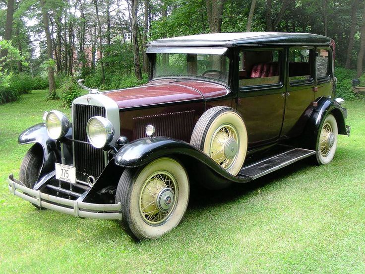 1930 Cadillac LaSalle 340 Four Door Sedan....classy....