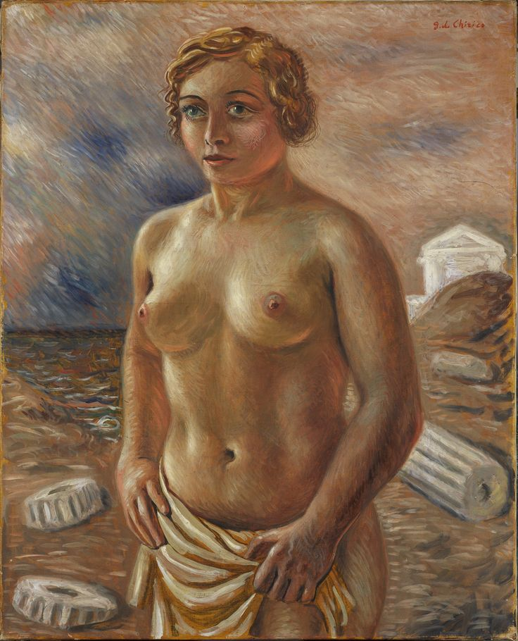 Giorgio de chirico, Nudo, 1930.  Courtesy Tornabuoni Art