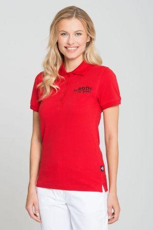 Damen Poloshirt DELUXE >> Die außergewöhnlich hochwertigen und strapazierfähigen Poloshirts DELUXE haben einen geschmeidig weichen Griff, liegen sehr angenehm auf der Haut und haben einen taillierten Schnitt. Das Piqué-Jersey-Mischgewebe aus hochwertigen Garnen bietet beste Trageeigenschaften und eine ausreichende Länge.