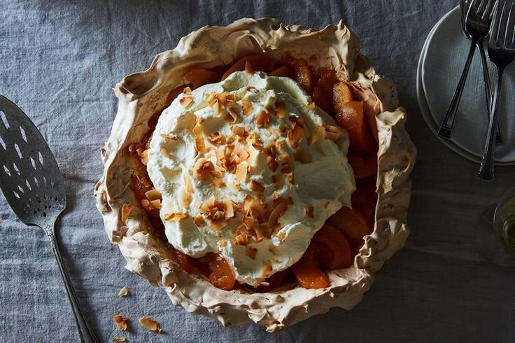 Four Generation Peach Pie with Coconut Meringue Crust recipe on Food52