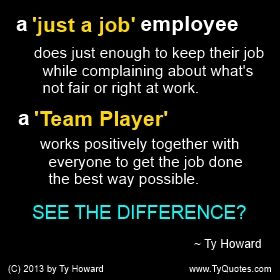 quotes of team players | Ty Howard Quote on Teamwork, Team Building, Team Player Quotes