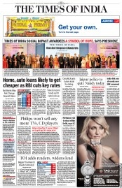 The Times of India 1/30/2013 - Home, auto loans likely to get cheaper as RBI cuts key rates