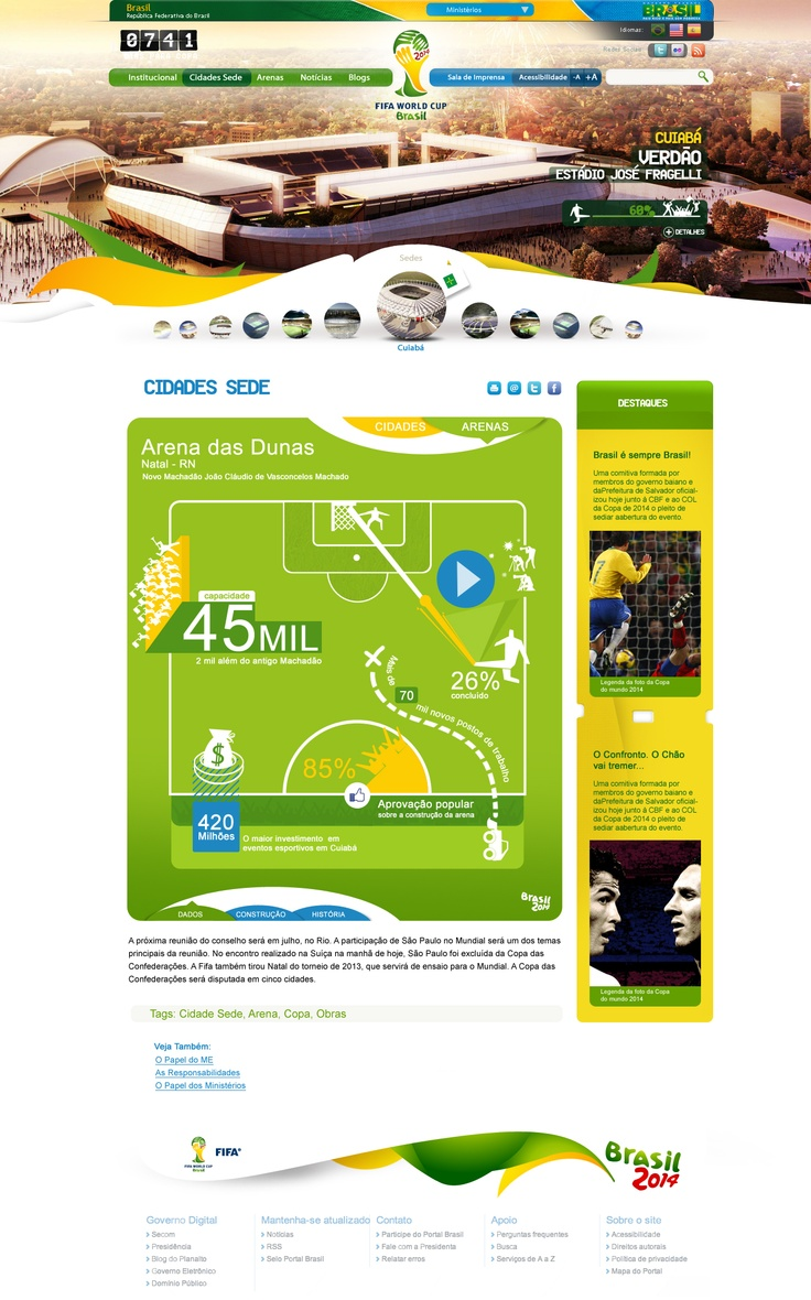 FiFA World Cup Brasil 2014  by Haris.Karat,  Webdesigner,  haris.karat@gmail.com,  Call:+91 8086562746