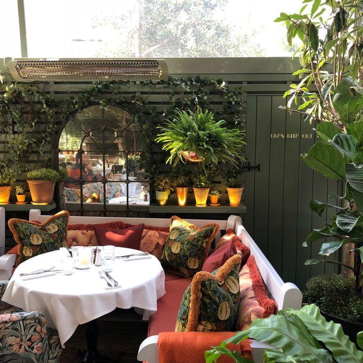 The Ivy Chelsea Garden, Londres - Chelsea : magnifique restaurant à la déco british