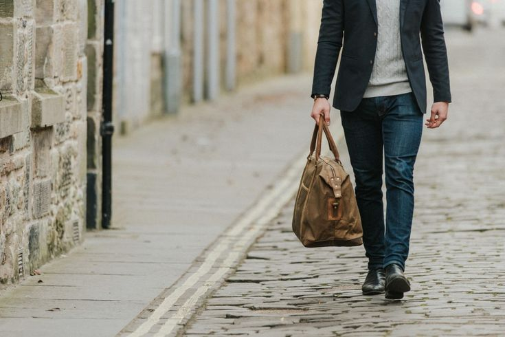 New! Waxed Canvas and Leather Holdall   by Scaramanga   http://www.scaramangashop.co.uk/Fashion-and-Furniture-Blog/new-waxed-canvas-leather-holdall-scaramanga/