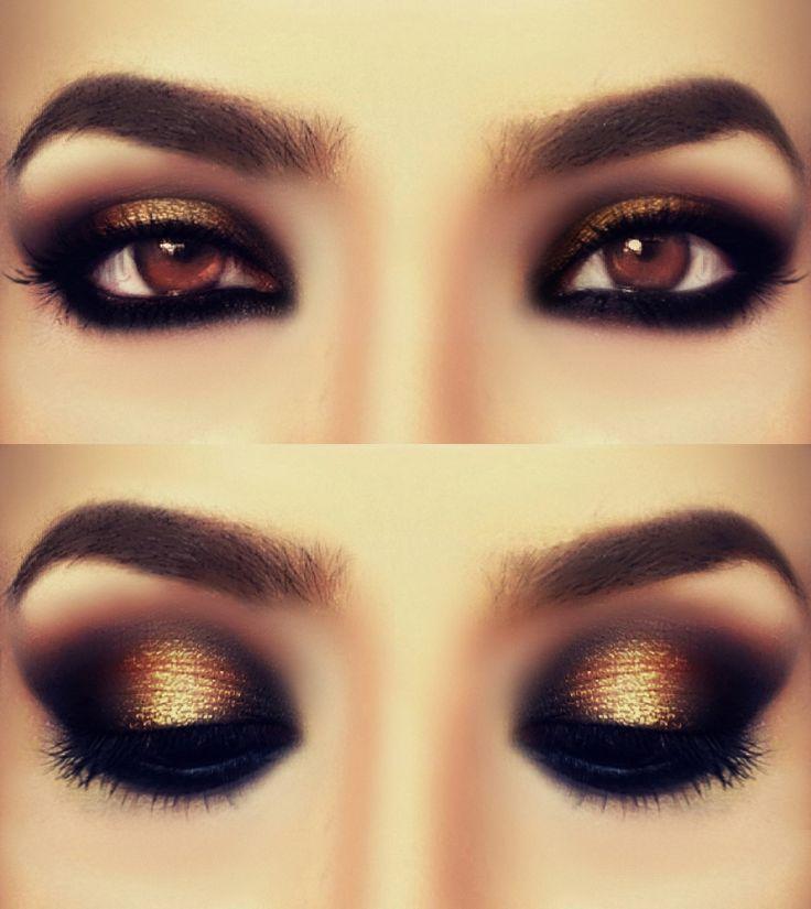 Wow.. I love this look! Smokey Bronze