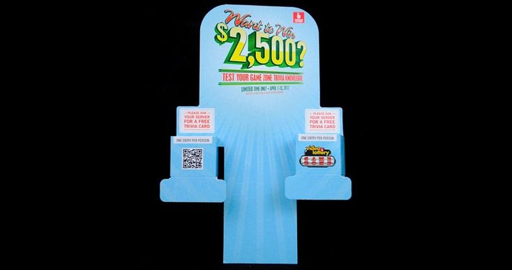 Oregon State Lottery Ticket Kiosk    #pop #pointofpurchase #graphics #visualmerchandising #pointofpurchasedisplay #creativeprint