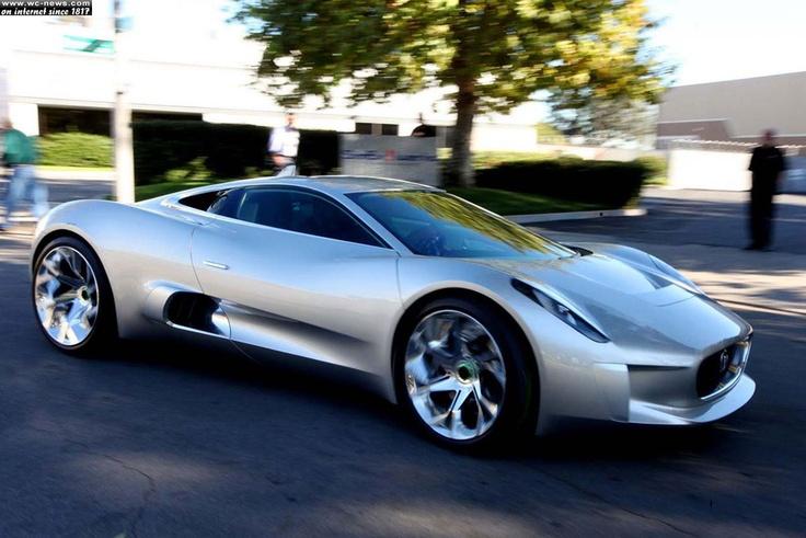 Jaguar Hybrid  Source: http://www.wc-news.com/jaguar-hybrid-c-x75-concept-jaguar-cars-and-williams-f1/