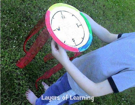 Make this wind detector craft with your kids to measure wind speed with the naked eye using the Beaufort Scale.