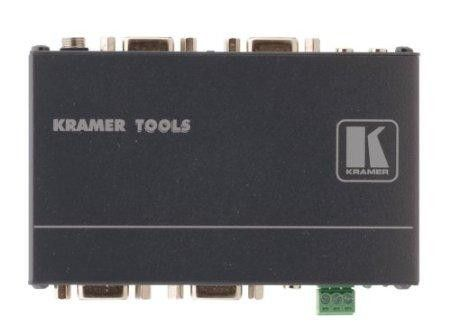 KRAMER ELECTRONICS 2X1PUTER GRAPHICS VIDEO & STEREO AUDIO STANDBY SWITCHER; HIGH BANDWIDTH;LOO