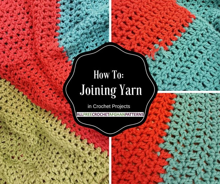 Crochet Stitches Joining : How To: Joining Yarn in Crochet Projects Dont fear striped patterns ...