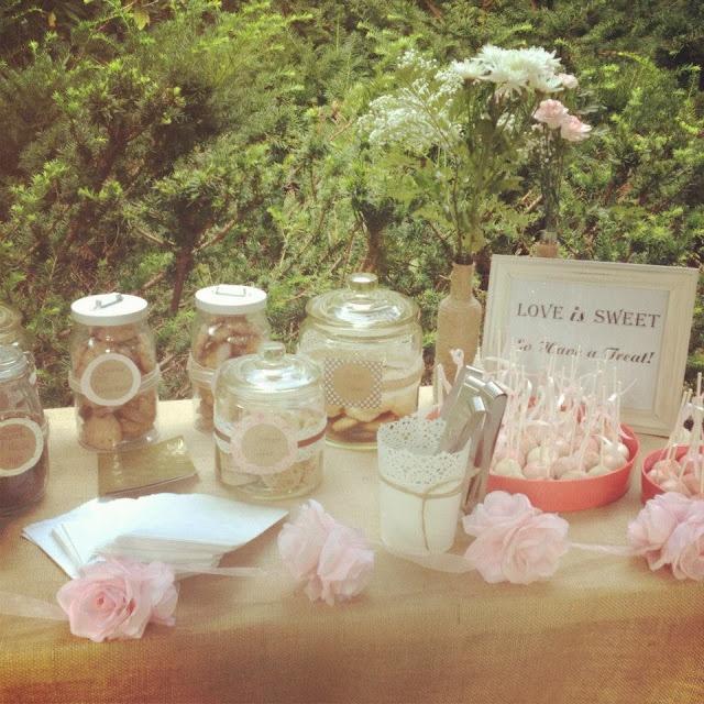 Diy Wedding Cookie Tables: Bridal Shower Cookie Bar