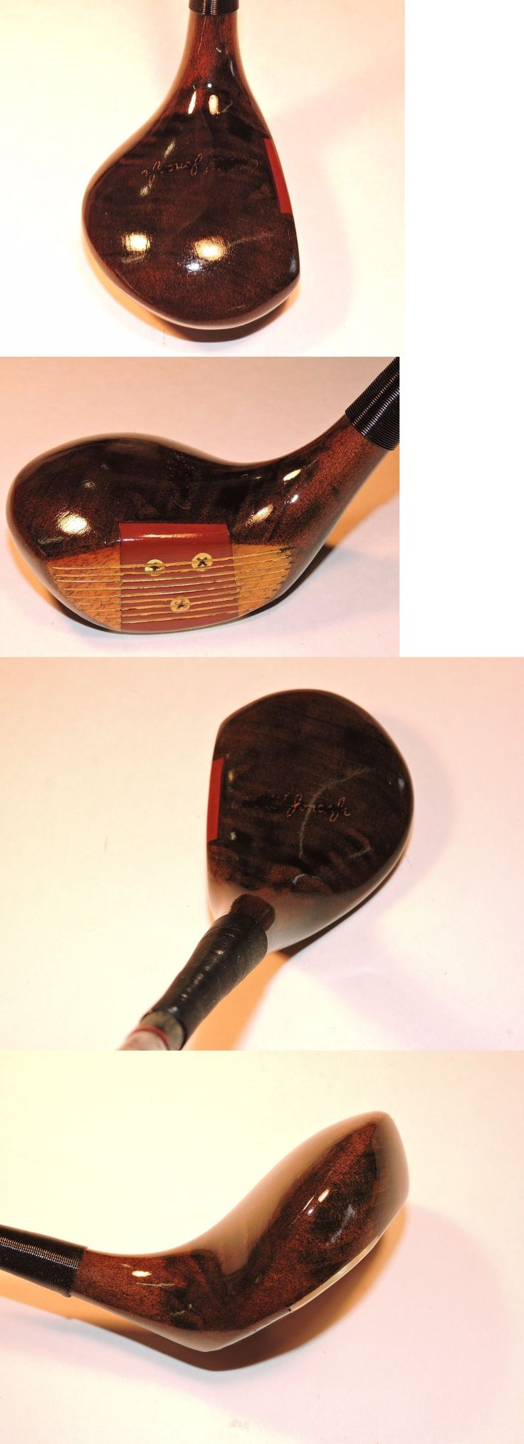 Vintage Golf Clubs and Shafts 83043: Spalding Bobby Jones Registered Driver Vintage Persimmon Golf Club Rh Mens -> BUY IT NOW ONLY: $39.0 on eBay!