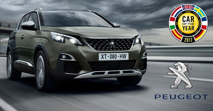 Titlul de Mașina Anului 2017 în Europa este câștigat de Peugeot 3008
