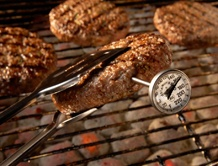 Grill it Safely - Check tips in Cook It Quick Newsletter for cooking safe & tasty hamburgers!