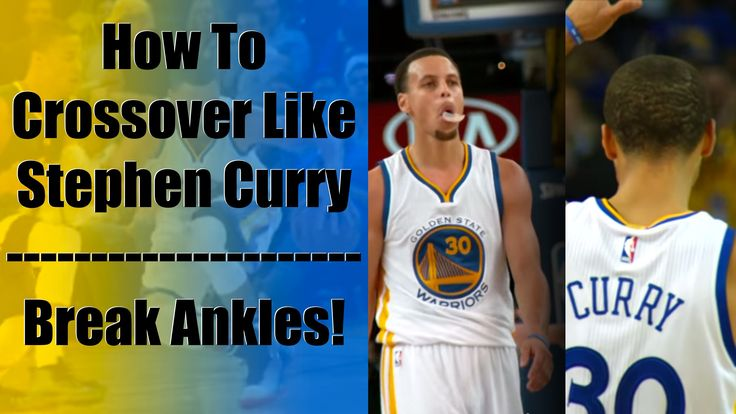 How To Crossover Like Stephen Curry: Best Ankle Breaker Basketball Moves...