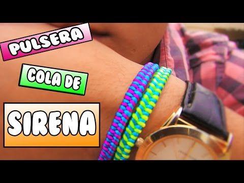 ► PULSERA: cola de SIRENA || Pulseras de hilo FÁCIL - YouTube
