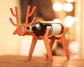 reindeer wine bottle keeper