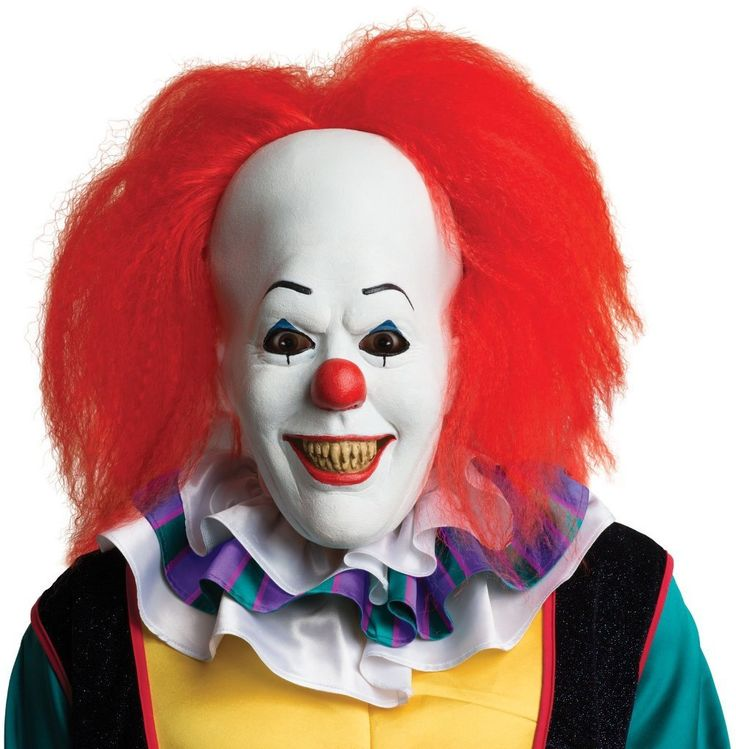 Stephen Kings IT Pennywise Mask - 1 Units