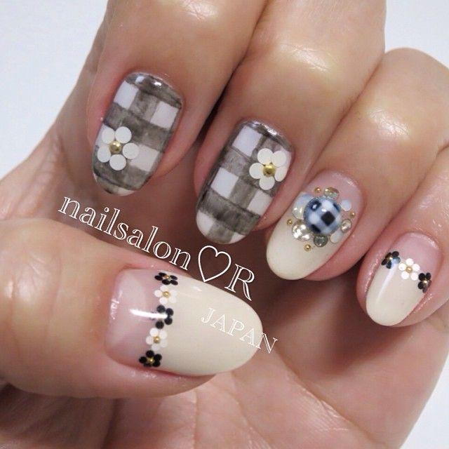 rie_nail nail nails nailart
