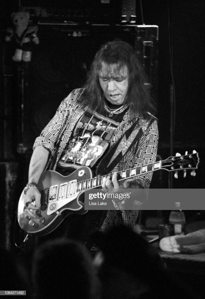 Ace Frehley Of The Band Kiss Performs At Starz Nightclub On