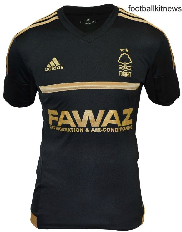 This is the new Nottingham Forest third kit 2015/2016, Forest's new 150th anniversary third strip for the 15/16 Championship season. The kit was revealed just before Christmas. The black and …