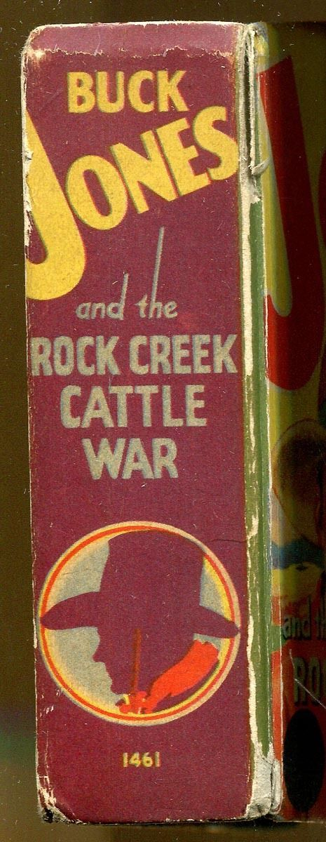 Buck Jones & The Rock Creek Cattle War by Gaylord DuBois-Big Little Book-1938 | eBay