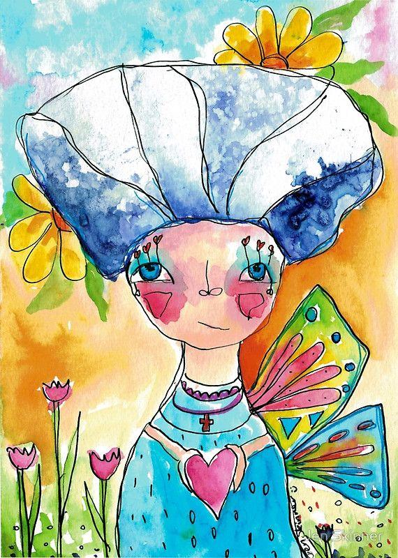 Heartfelt Girl - Blossom ©Jen Skinner